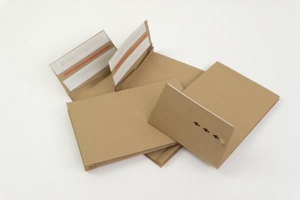 Mehrwege Versandtaschen aus Papier - Retourenumschläge aus Kraftpapier - e-Commerce Versandumschläge