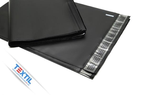 schwarze Versandtüten aus LDPE Folie