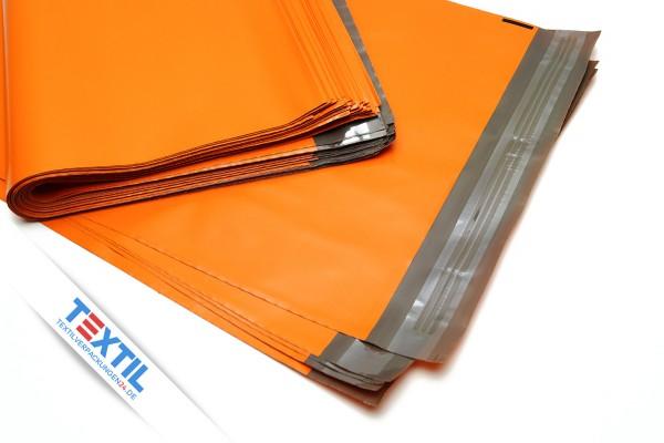 Versandtaschen, Folienbeutel in orange