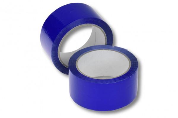Farbige Paketklebebänder - Blaues Paketband günstig online kaufen. Sofort lieferbar